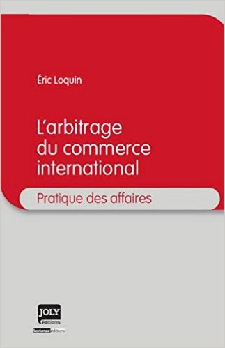 image ouvrage arbitrage du commerce international